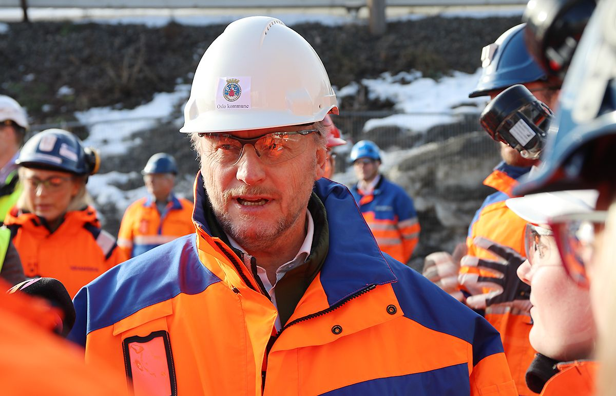 Raymond Johansen.