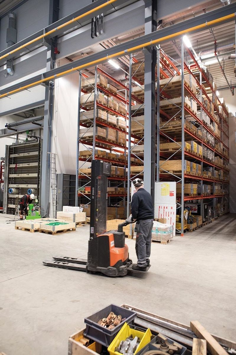 Ved å være med på å utforme bygget til egen virksomhet og behov, er det håp om kunne optimalisere og effektivisere driften i det nye bygget. Selv om arealene ABB hadde på Brakerøya var fire ganger så store. Foto: Anders Kjøndal