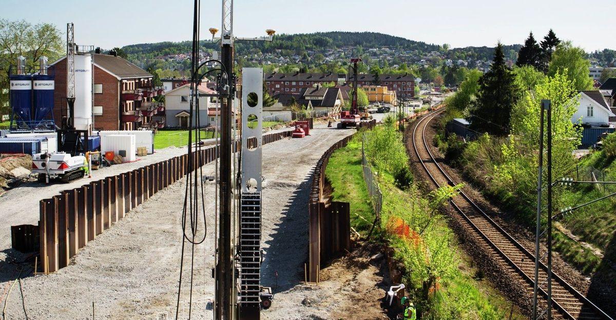 Fv. 32 Gimlevegen-Augestadveien: Entreprise 1 - Dr. Munks gate-Augestadveien. Foto: AF Gruppen