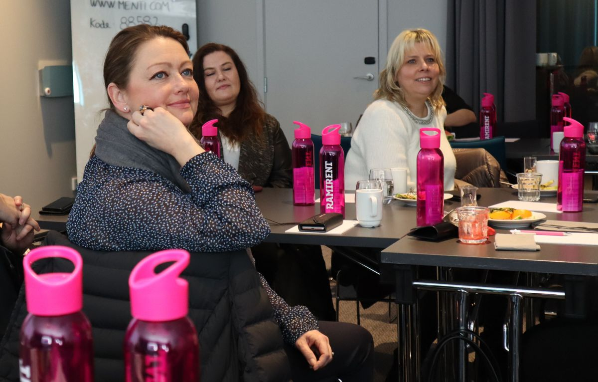 Første samling i Ramirents kvinneforum. Foto: Svanhild Blakstad