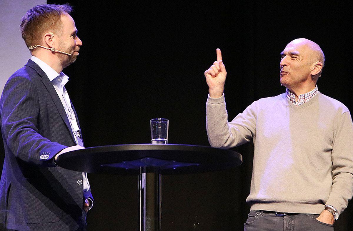 Arthur Buchardt og Dag Runar Båtvik