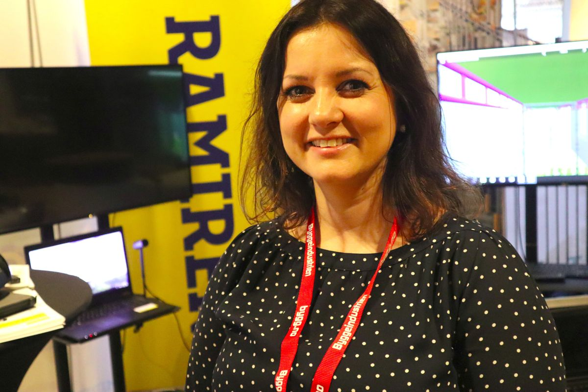 Belinda Sandberg, markedsansvarlig i Ramirent. Foto: Svanhild Blakstad