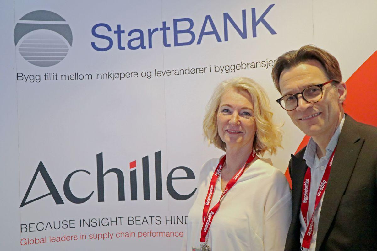 Achilles/StartBank på Byggedagene 2019. Foto: Svanhild Blakstad