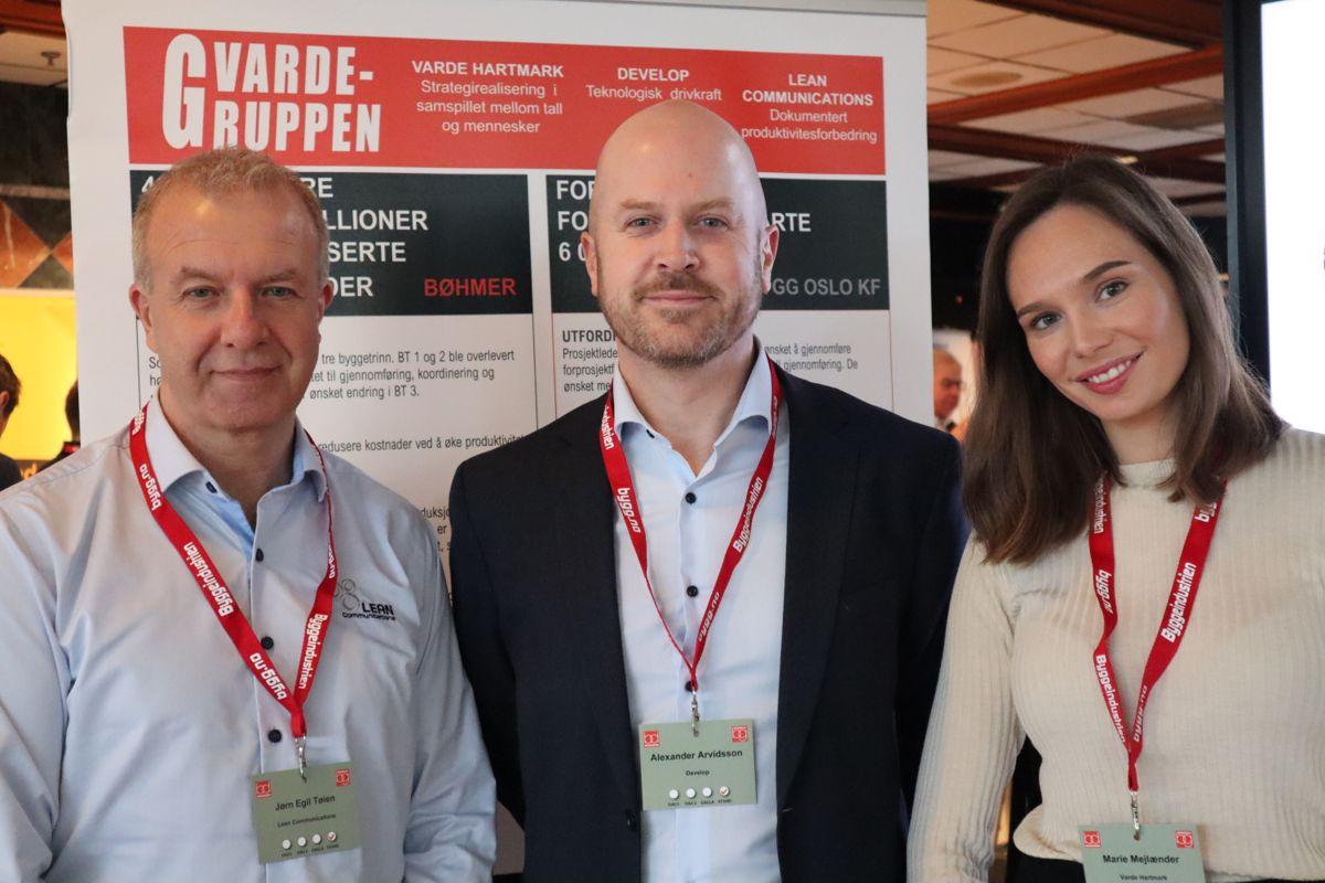 <p>VardeGruppen er en av årets nykommere blant utstillerne på Byggedagene. Foto: Svanhild Blakstad</p>