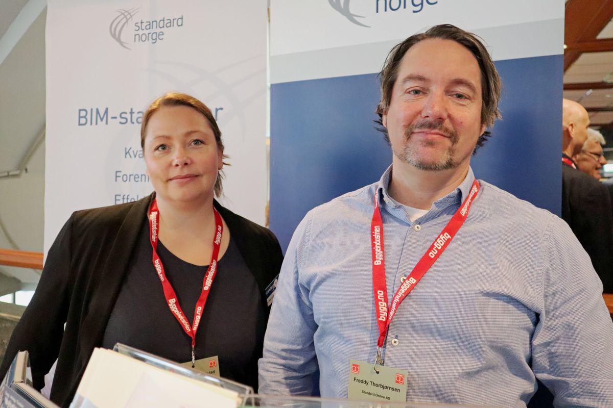 Standard Norge på Byggedagene 2019. Foto: Svanhild Blakstad