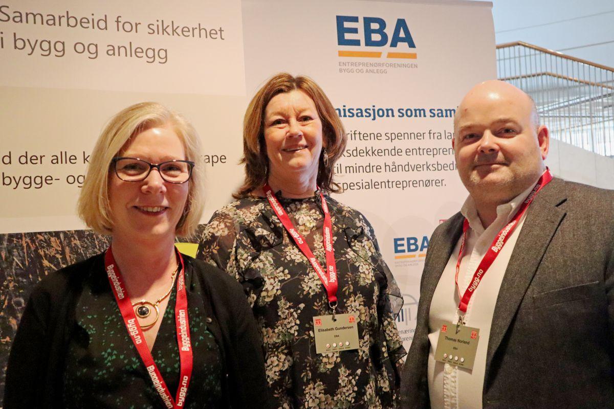 EBA på Byggedagenene 2019. Foto: Svanhild Blakstad