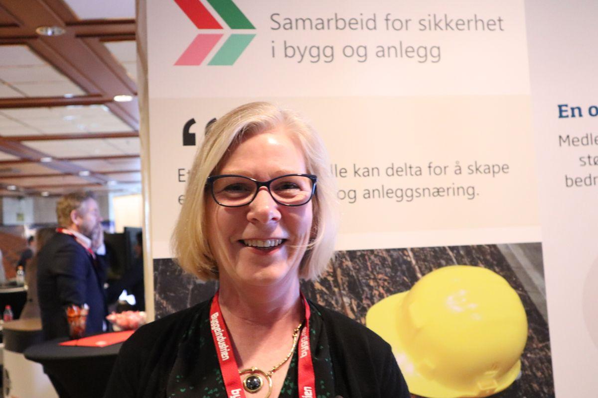 Samarbeid for sikkerhet i byggenæringen. Foto: Svanhild Blakstad