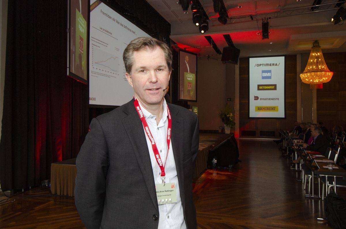 Administrerende direktør John-Arne Røttingen i Forskningsrådet.