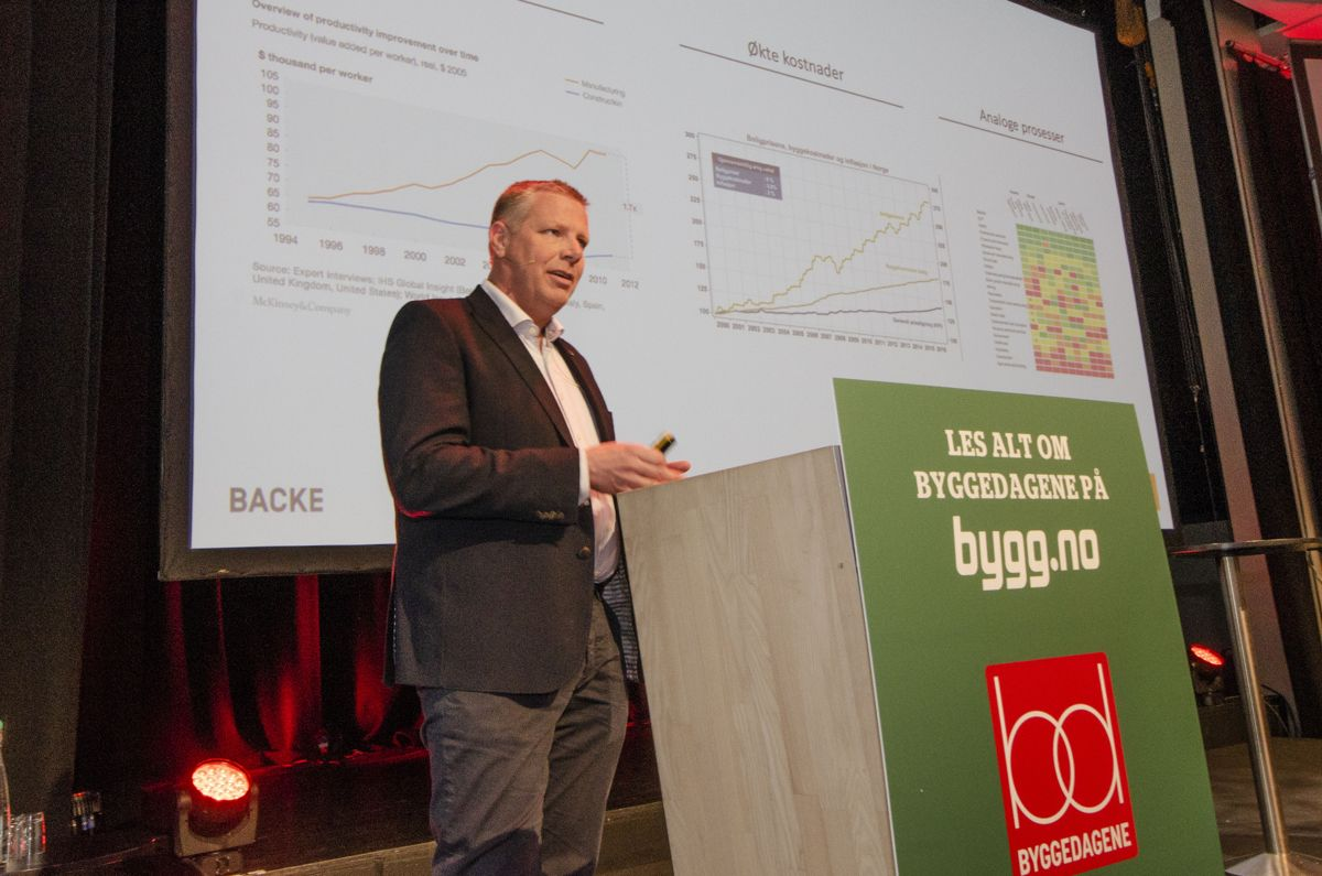 Administrerende direktør Asle Randen i Backe Entreprenør. Foto: Sindre Sverdrup Strand