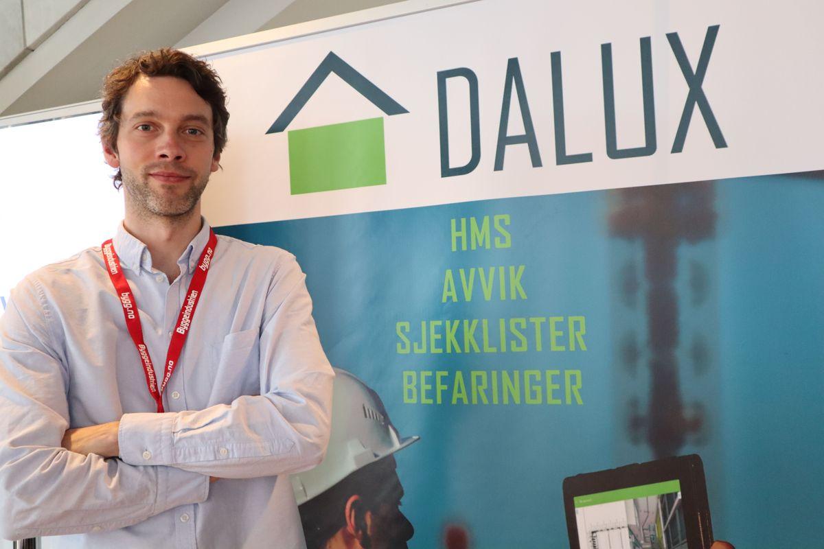 Dalux på Byggedagene 2019. Foto: Svanhild Blakstad