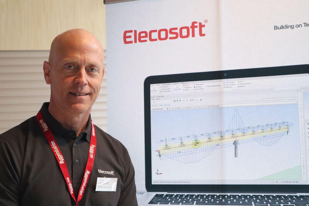 Elecosoft er en av nykommerne på Byggedagene 2019. Foto: Svanhild Blakstad