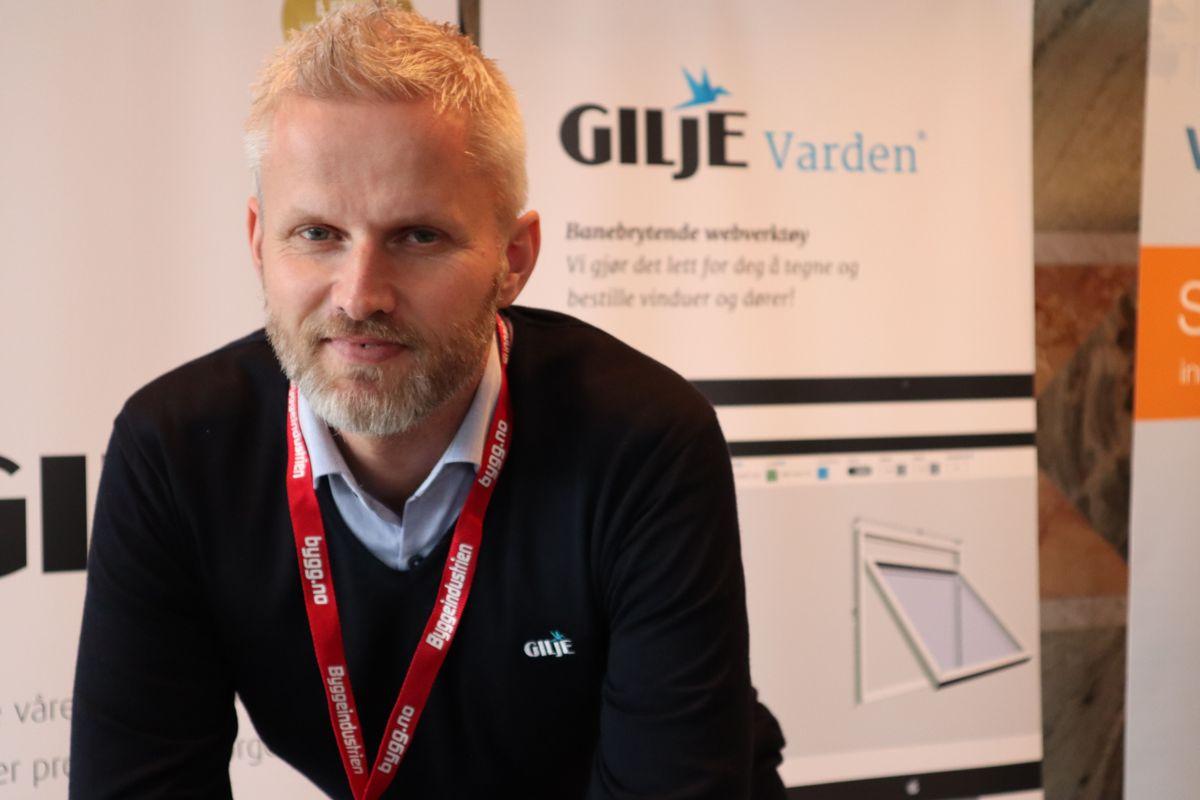 Gilje på Byggedagene 2019. Foto: Svanhild Blakstad