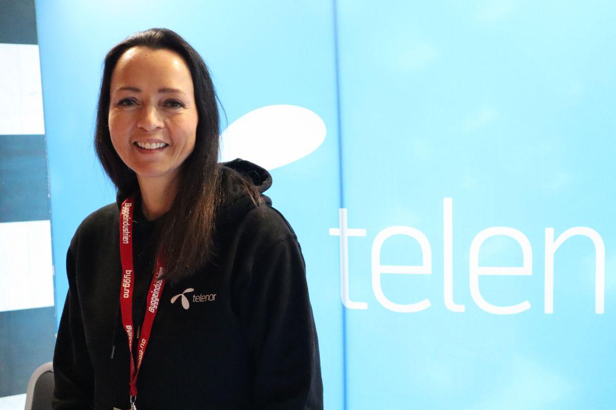 Telenor på Byggedagene 2019. Foto: Svanhild Blakstad