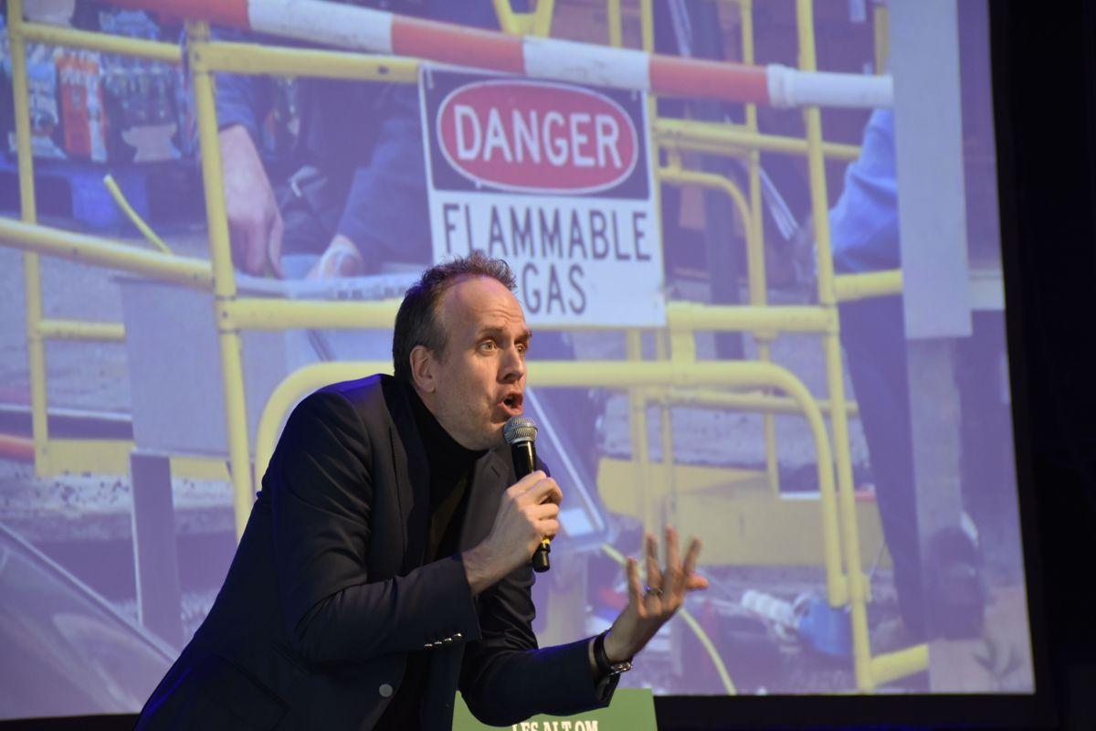 Futurologist Magnus Lindkvist. Foto: Stefan Offerggard