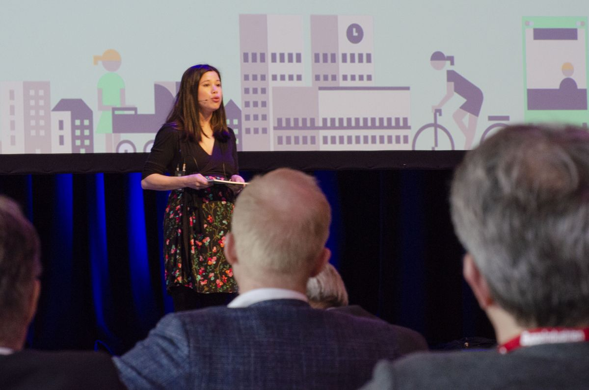 Miljø- og samferdselbyråd Lan Marie Nguyen Berg i Oslo. Foto: Sindre Sverdrup Strand