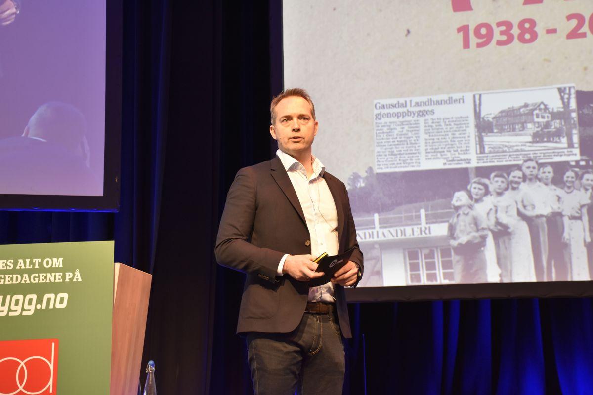 Aleksander Bjaaland, aministrerende direktør i Holte