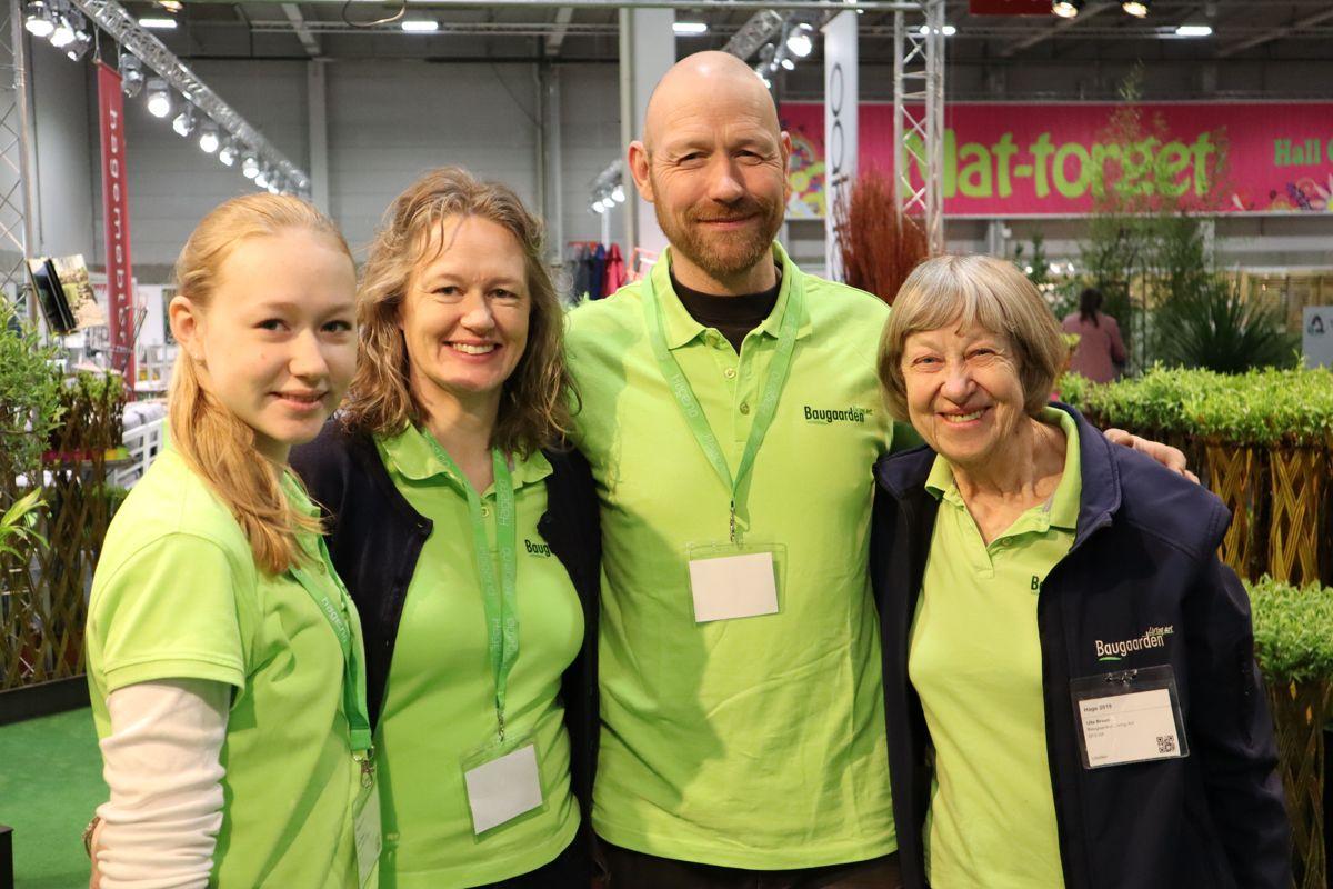 Danske Baugaarden er en stor produsent av pilplanter og er fast utstiller på Hagemessen. Foto: Svanhild Blakstad