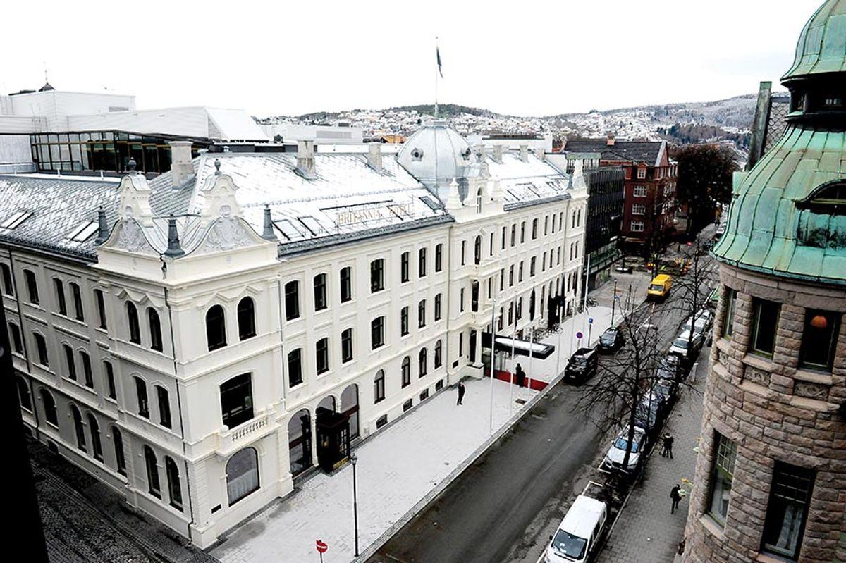 E.C. Dahls Eiendom eier blant annet Britannia i Trondheim. Arkivfoto