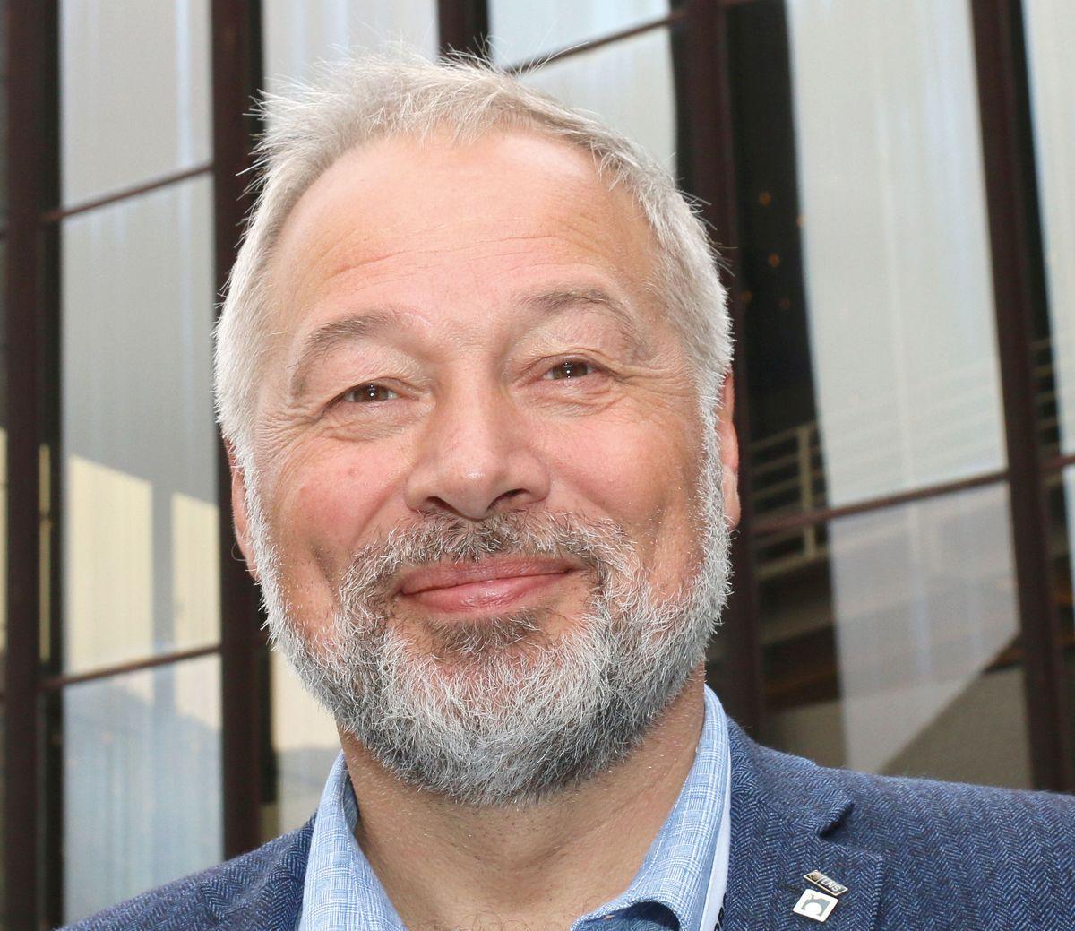 <p>Konsernsjef Frode Nilsen i LNS.</p>
