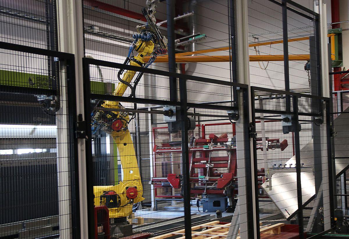 Systemair har investert i mye nytt produksjonsutstyr ved fabrikken på Dal i Eidsvoll.