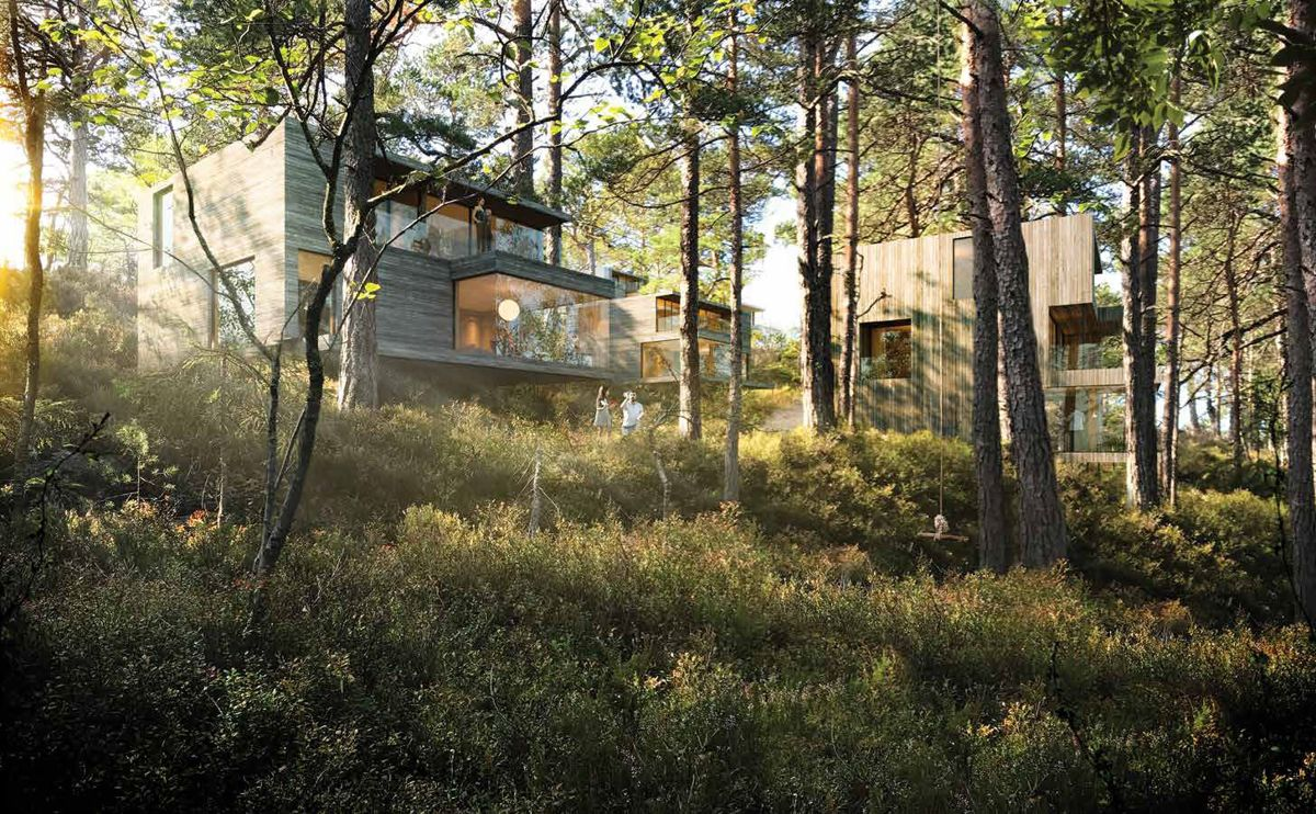 Illustrasjon: OBOS / Lund Hagem Arkitekter