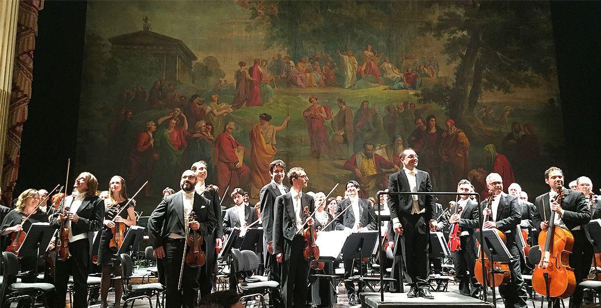 Inkludert i programmet var også en konsert i verdens eldste operabygg, San Carlo. Foto: Tone Nakstad