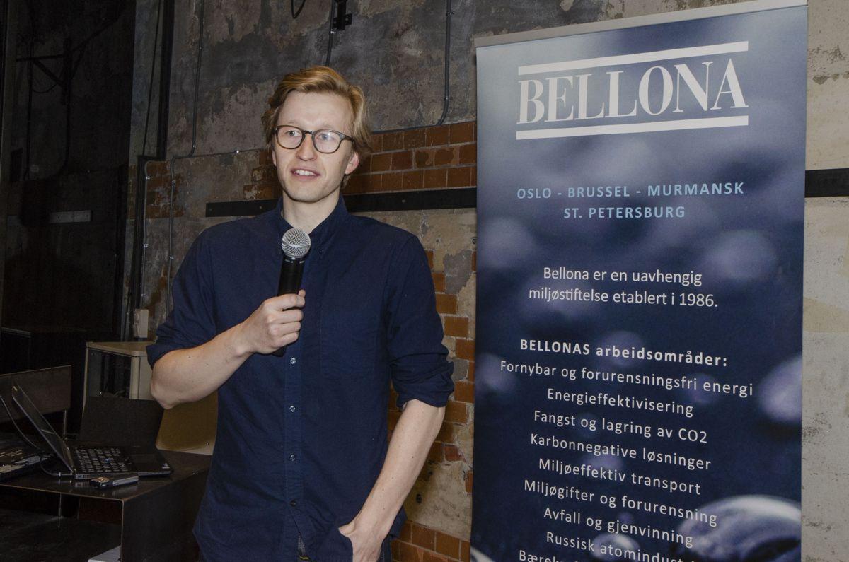 Fagsjef Christian Eriksen i Bellona.