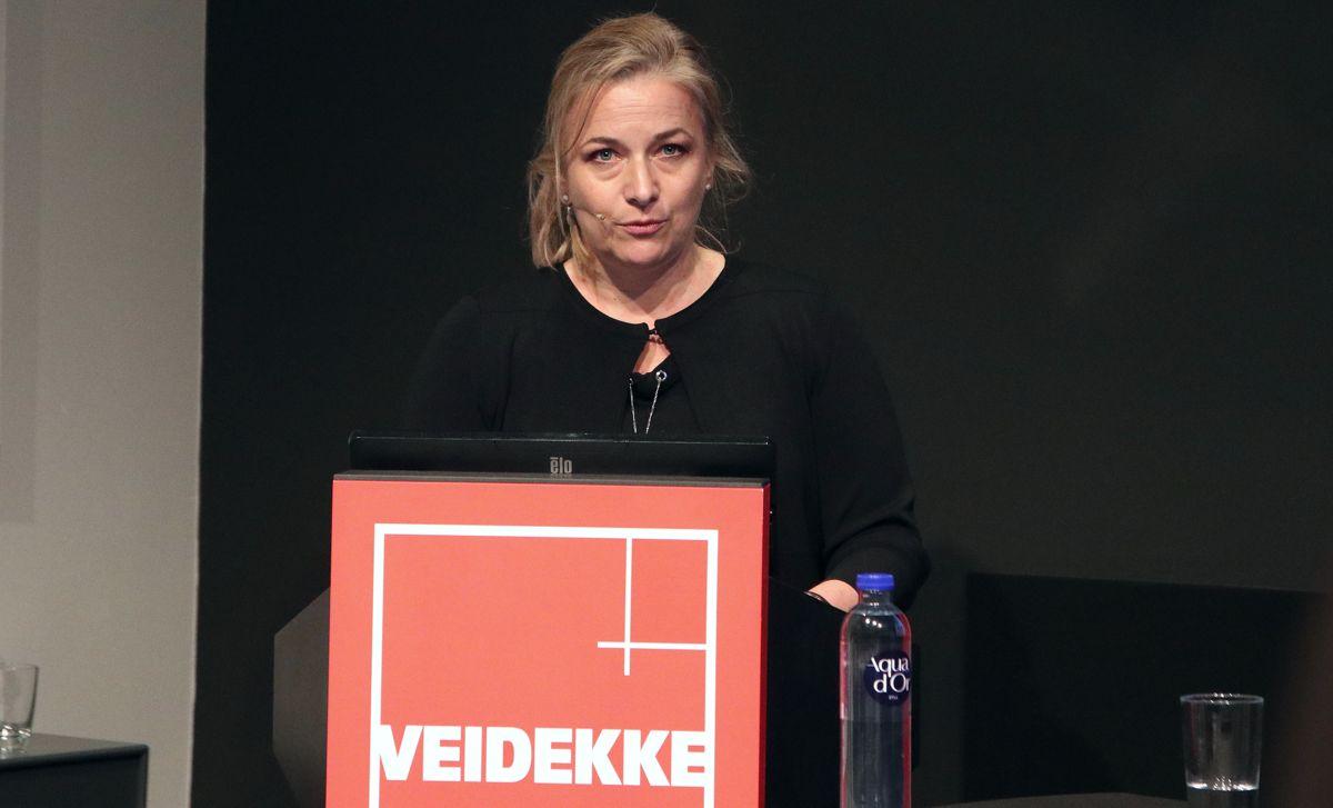 Catharina Bjerke, konserndirektør Veidekke Industri.