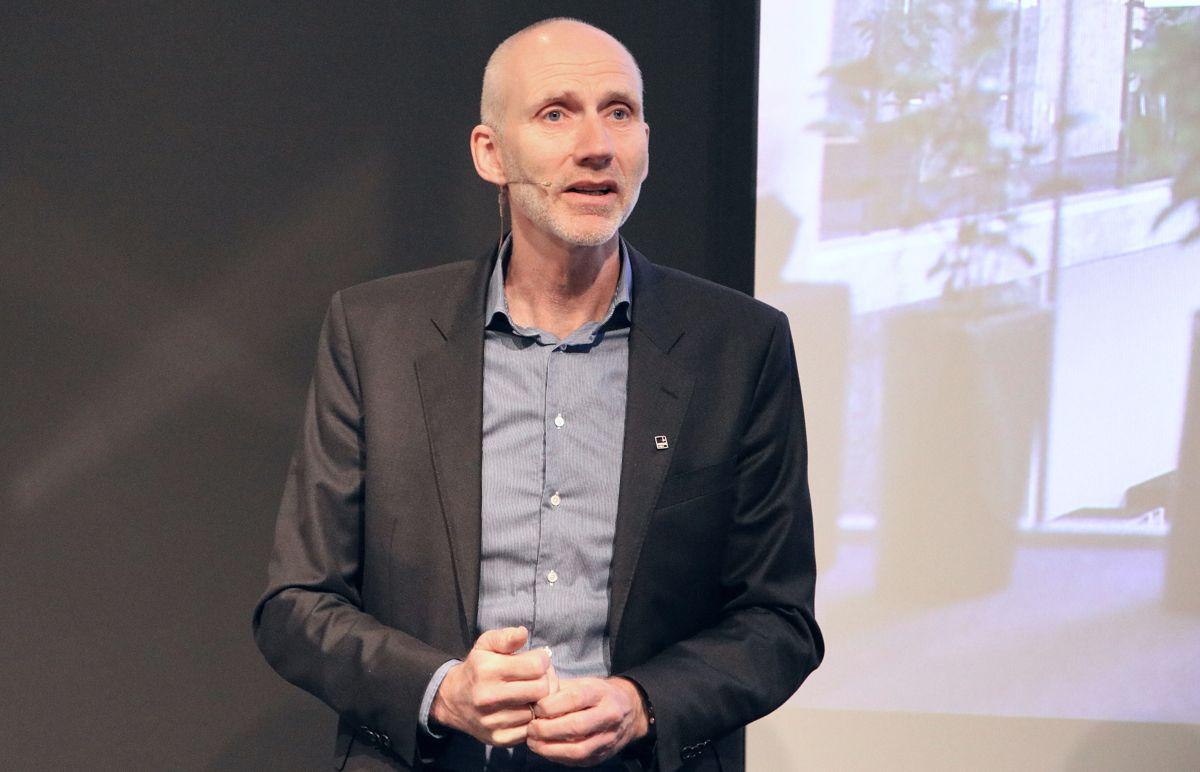 Hans Olav Sørlie, konserndirektør Bygg Norge.