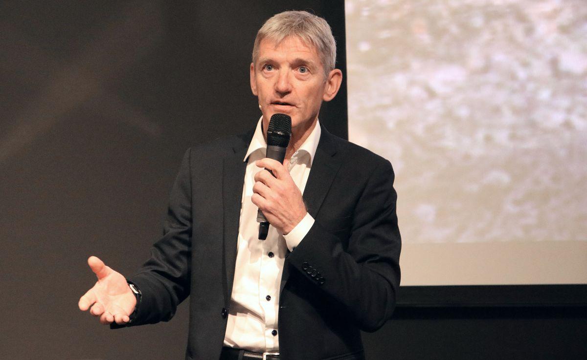 Øivind Larsen, konserndirektør Anlegg Norge.