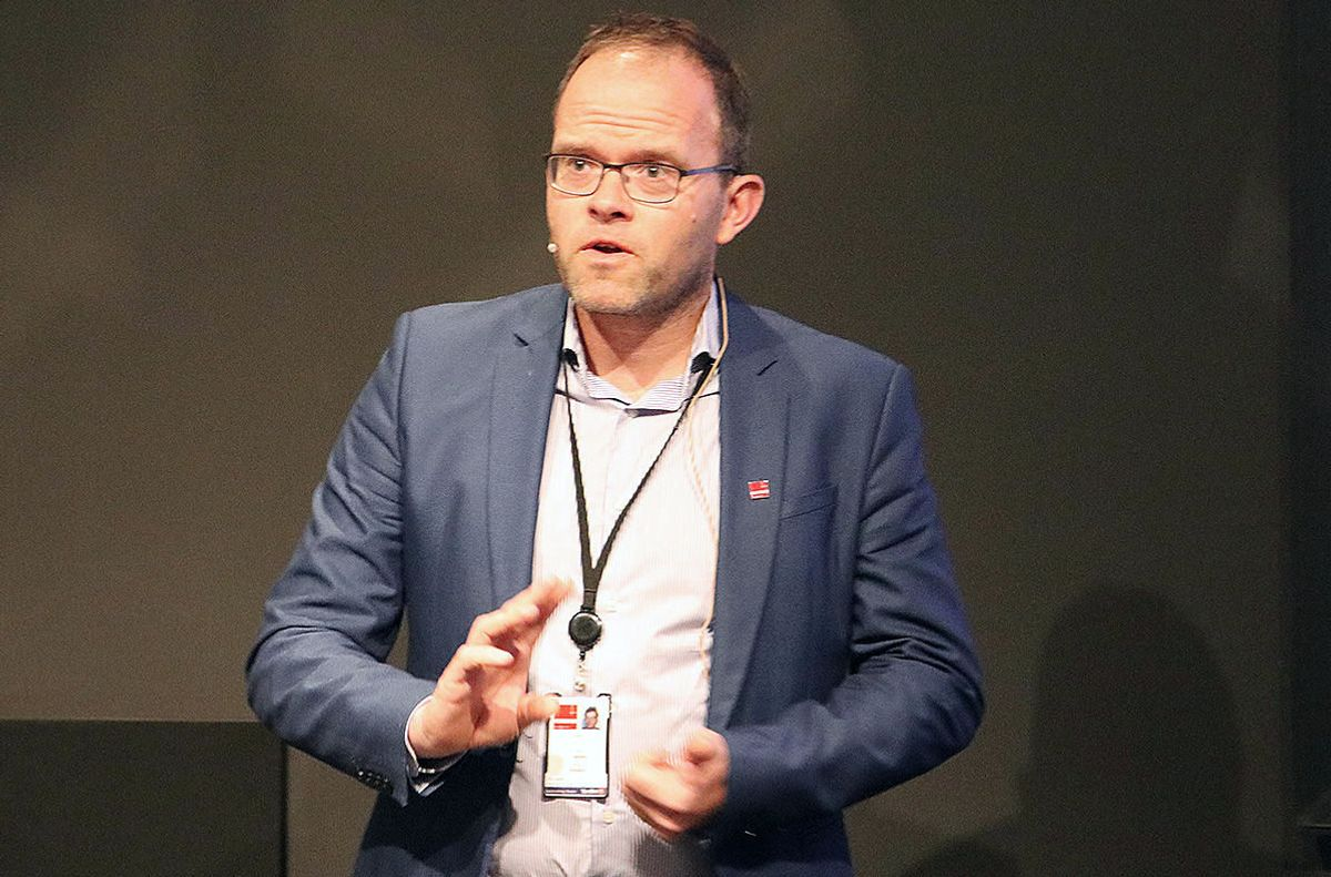 Jørgen W Porsmyr, konserndirektør, prosjektutvikling i Skandinavia, Entreprenør Danmark.