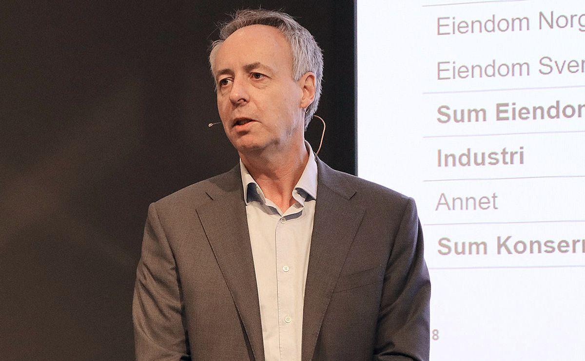 Terje Larsen, konserndirektør, CFO