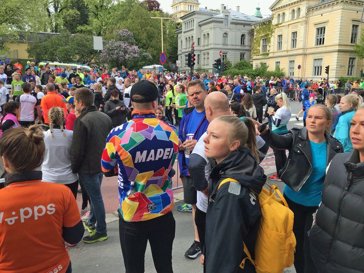 Fra veksling på 13. etappe. Foto: Svanhild Blakstad
