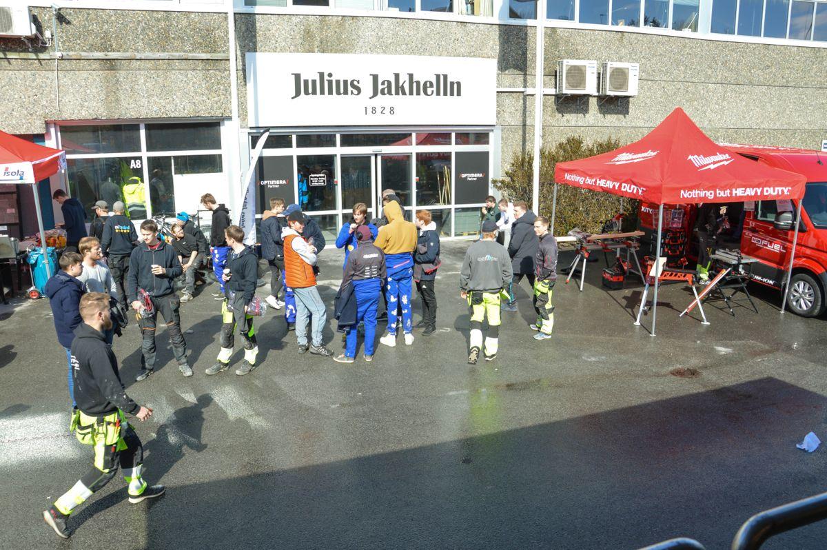 Julius Jakhelln as i Bodø har inngått partnerskap med Optimera. Foto: Lise Fagerbakk / Avisa Nordland