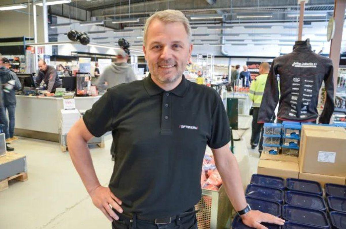 Tom Lars Jønsberg, markedssjef i Julius Jakhelln. Foto: Lise Fagerbakk / Avisa Nordland