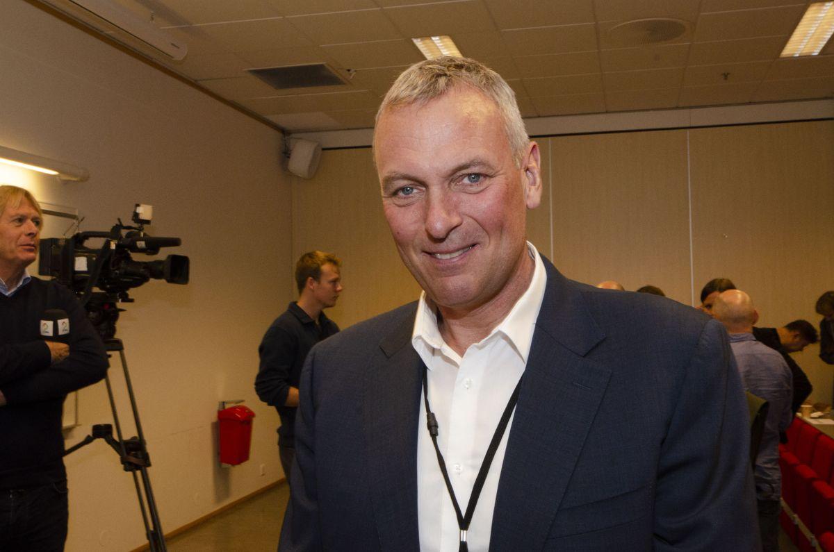 Administrerende direktør i Selvaag Bolig, Rolf Thorsen.