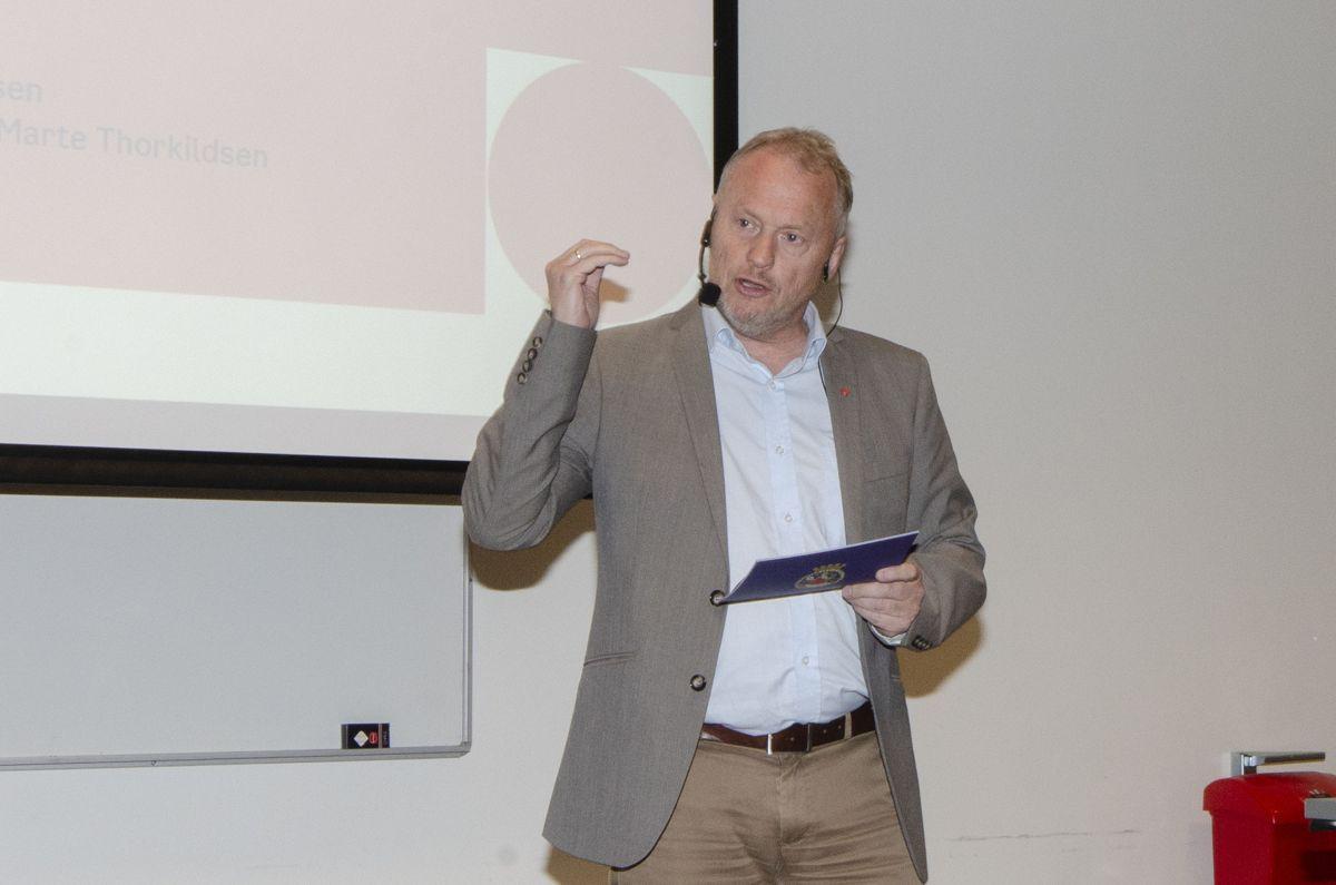 Byrådsleder Raymond Johansen i Oslo kommune.