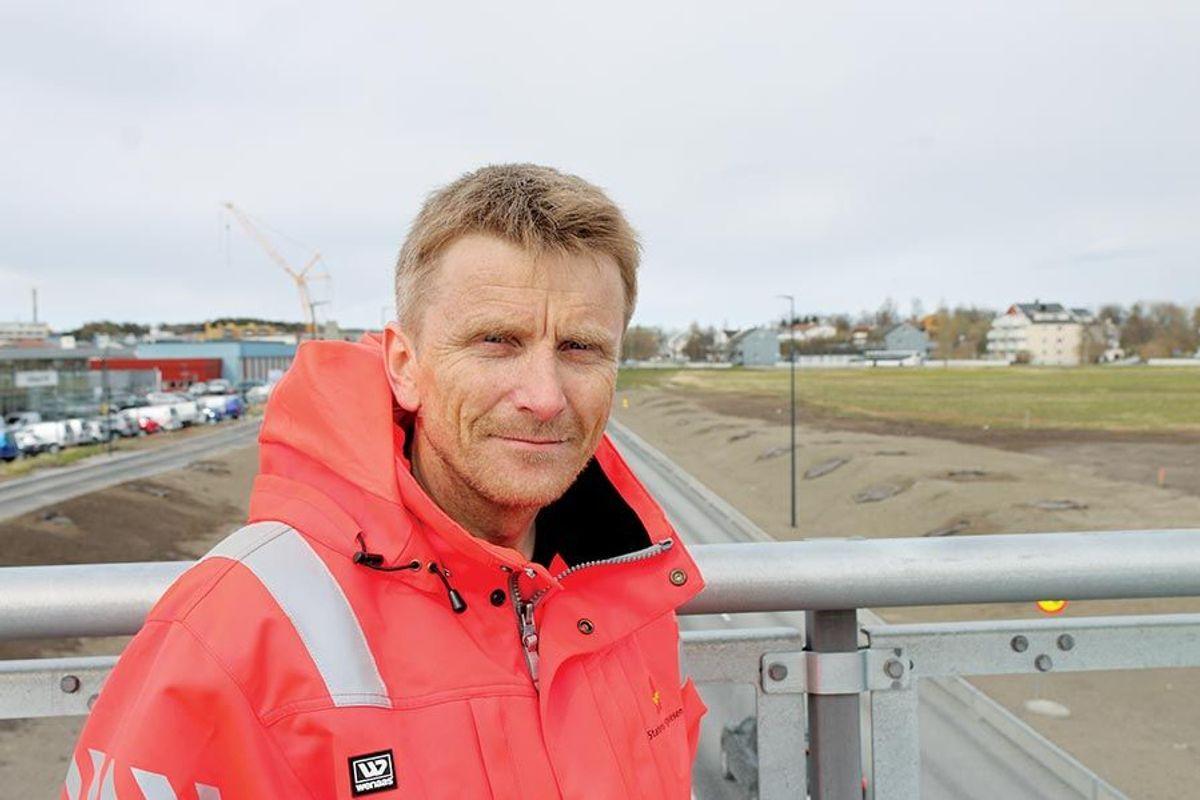 Prosjektleder Arild Hegreberg i Statens vegvesen.
