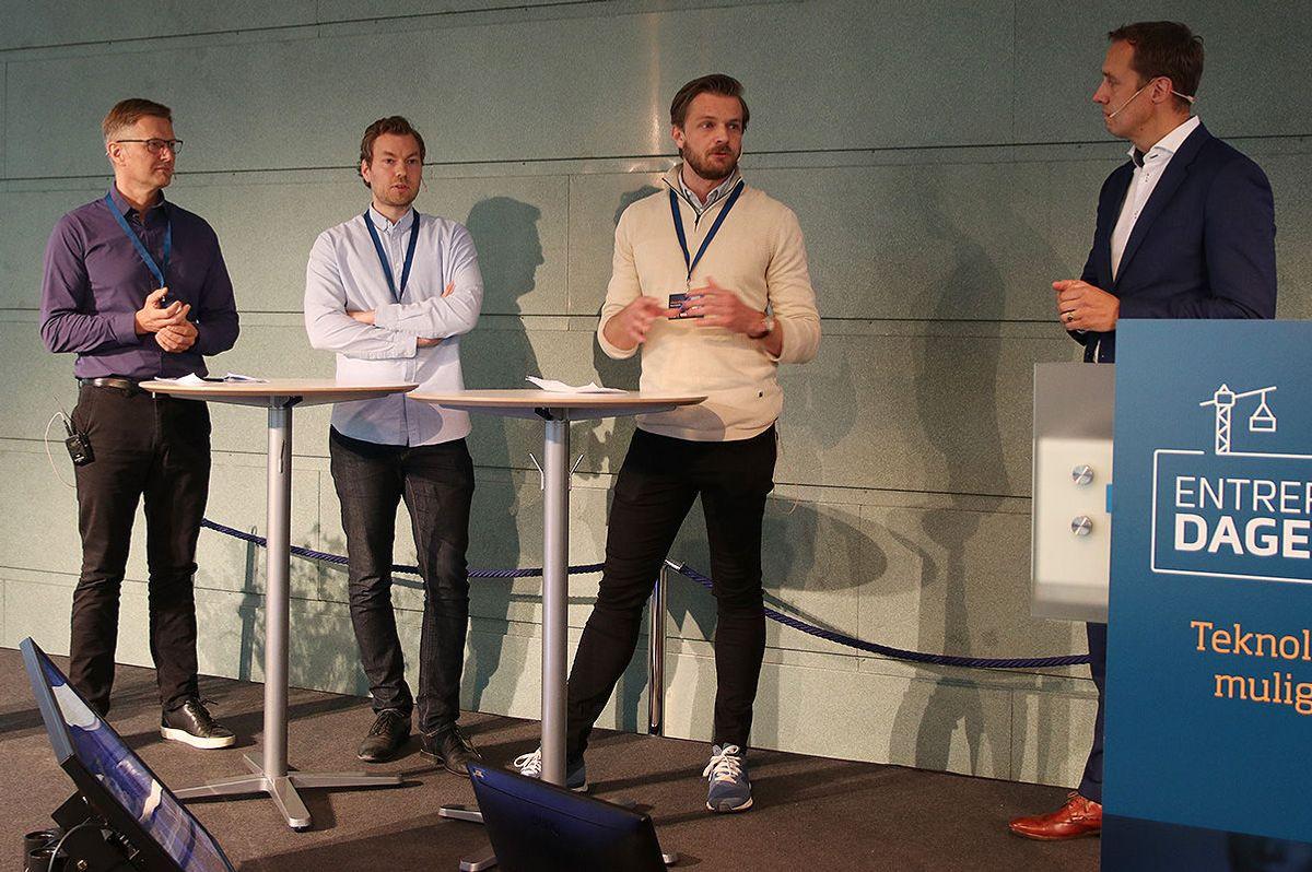 Oddvar Kost, Simen Andersen og Thomas Angeltveit