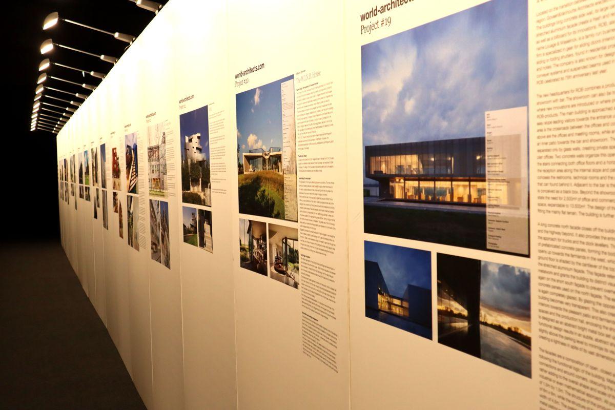 Utvalgte prosjekter ble presentert på messen. Foto: Svanhild Blakstad