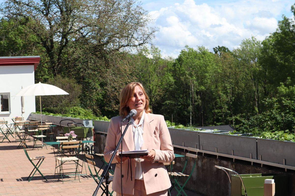 Kitty Stensrud, daglig leder i arbeids- og inkluderingsbedriften Unikum. Foto: Svanhild Blakstad