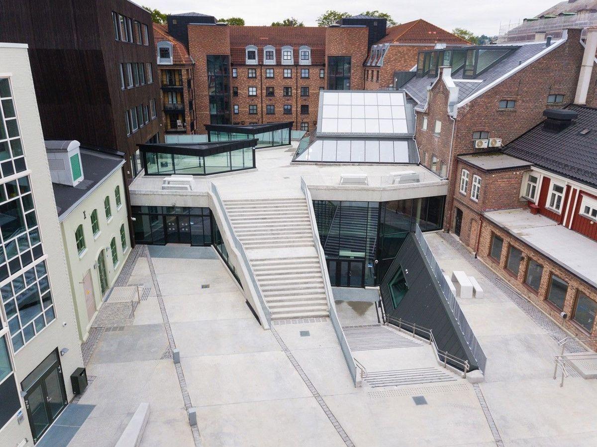 NTNU. Bergersen arkitekter. Foto: Karl-Erik Eriksson