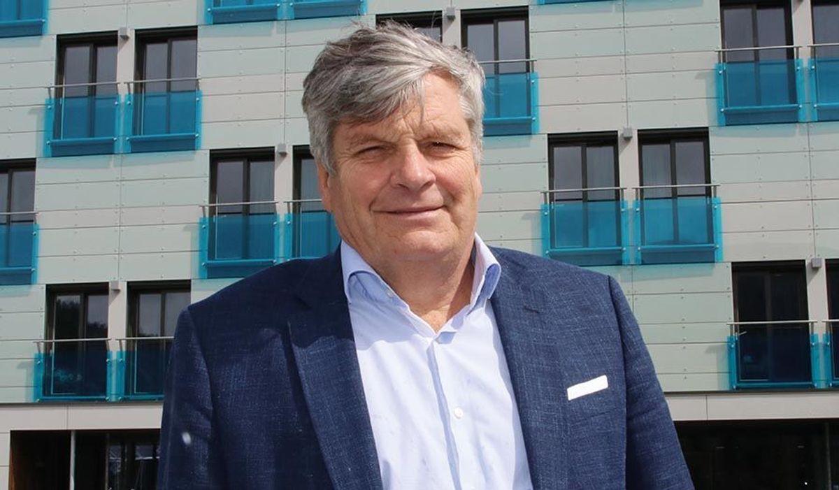 Eier og hotelldirektør Jørgen Christian Lindstrøm.