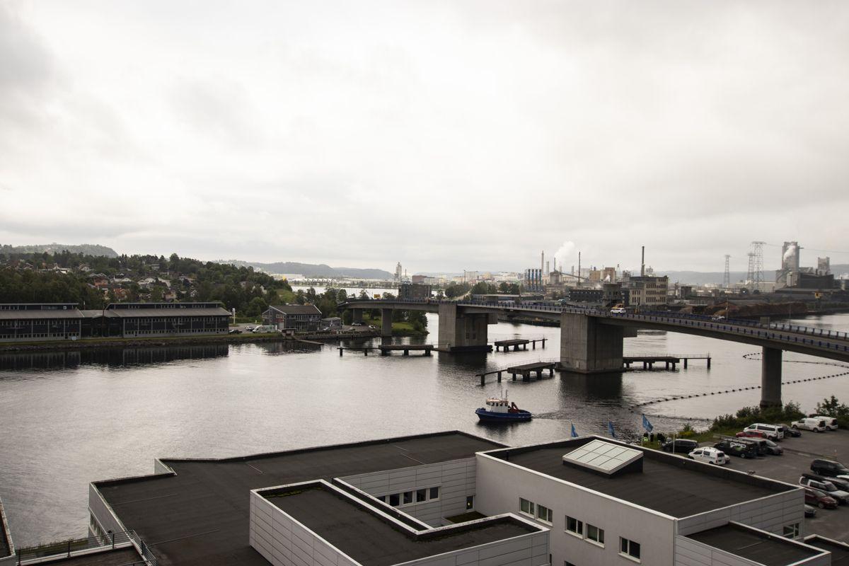 Powerhouse blir en fin kontrast til industrien på Herøya.