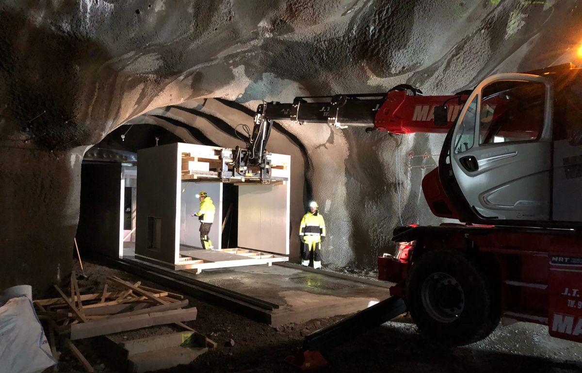 Foamrox har så langt blitt brukt til ulike tunnelprodukter, som kan erstatte løsninger som normalt blir produsert i betong. På sikt ønsker selskapet også å utnytte produktets potensiale utenfor tunnelene. Foto: Foamrox.
