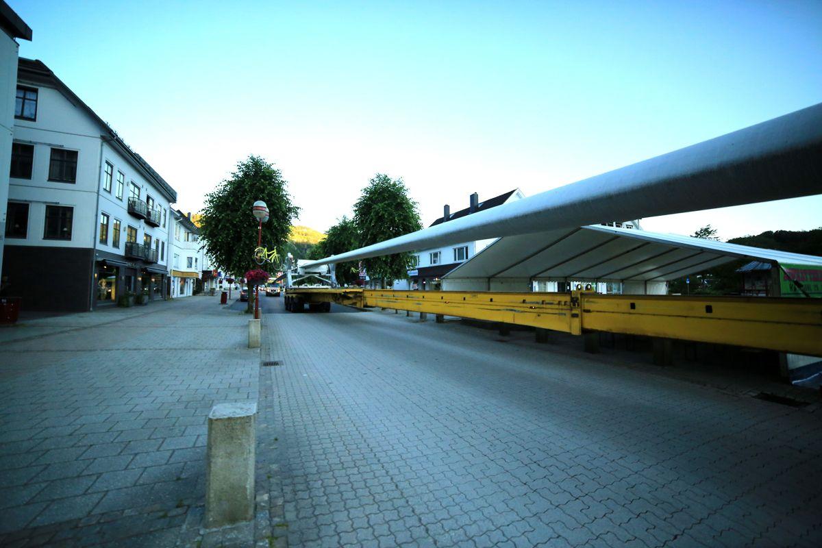 Vingetransport - Tonstad vindpark. Foto: Henriette-Sarah Holberg.