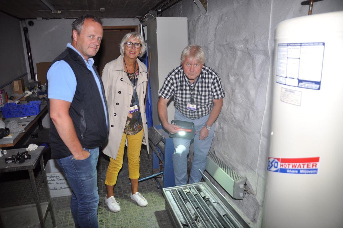 Stein fra veitunnelen gir viktig påfyll til byens geologiske historie. Foto: Kjell Wold/Statens vegvesen