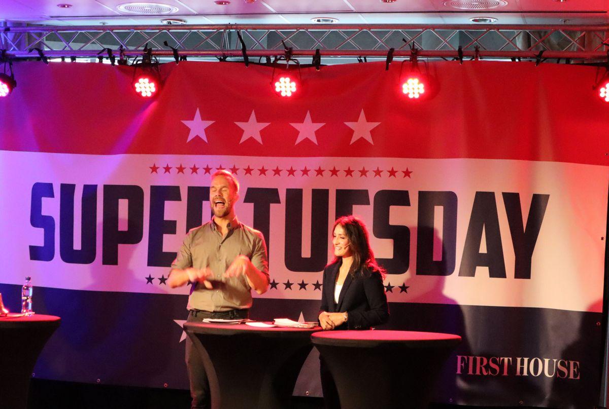 <p>Morten Hegseth og Mah-Rukh Ali ledet duellene under Super Tuesday. Foto: Svanhild Blakstad</p>
