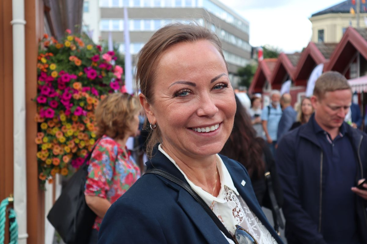 Hilde Waage, ny leder i EBA Agder. Foto: Svanhild Blakstad