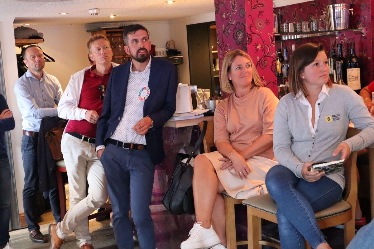 """Fra BNLs arrangement """"Hva skal til for at kvinner velger byggenæringen?"""" Foto: Svanhild Blakstad"""